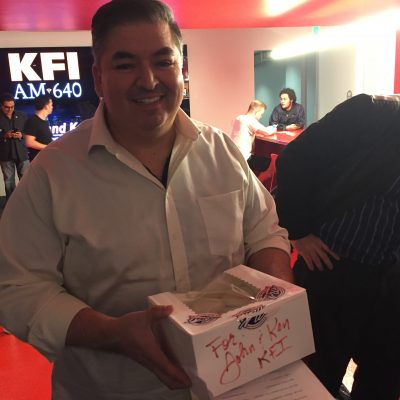 Ray Lopez, producer of the John and Ken Show